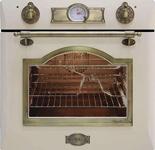 Kaiser Empire Einbau Gasbackofen 60cm Autark/67 Liter/Einbau-Gasherd/Backofen mit Katalytische Selbstreinigung/Unterhitze Infrarotgrill Elektrischer Drehspieß/3-fache Verglasung