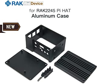 Gateway Aluminium Case for RAK2245 Pi HAT LoRa & Raspberry Pi & GPS with Full Input/Output, Cooler Radiator Design