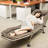 Cama plegable para el hogar Protección del medio ambiente Cama plegable Cama para la siesta de la oficina con lujoso...