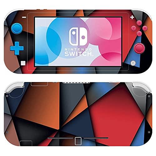 VINILOL Vinilo para Nintendo Switch Lite pegatina cubierta Cristales skin para consola.