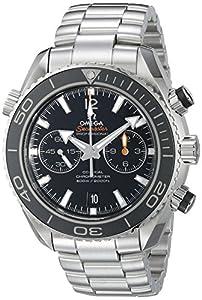 Omega Men's 232.30.46.51.01.001 Seamaster Plant Ocean Black Dial Watch