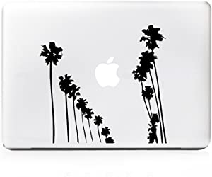 DecalGalleria - Palm Tree Rows Up Decal Sticker for MacBook, MacBook Pro and MacBook Air 11, 12, 13, 15, 17 inch