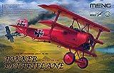 モンモデル 1/32 ドイツ空軍 フォッカー Dr.1 戦闘機 プラモデル MQS002