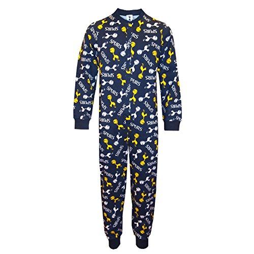 Tottenham Hotspur FC - Kinder Schlafanzug-Overall - Offizielles Merchandise - Geschenk für Fußballfans - 5-6 Jahre