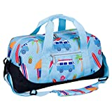 Wildkin Kids Overnighter Duffel Bags for Boys & Girls, Measures 18 x 9 x 9 Inches Duffel Bag for...