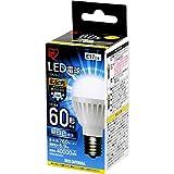 アイリスオーヤマ LED電球 口金直径17mm 60W形相当 昼白色 広配光タイプ 密閉形器具対応 LDA7N-G-E17-6T4 2)ノーマル