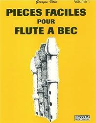 Partition: Flûte à bec vol. 1 pièces faciles
