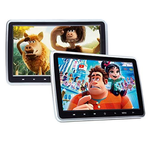 eonon Clip-on 10.1 inch LCD Car digital headrest Video CD DVD MP3 MP4 AVI...