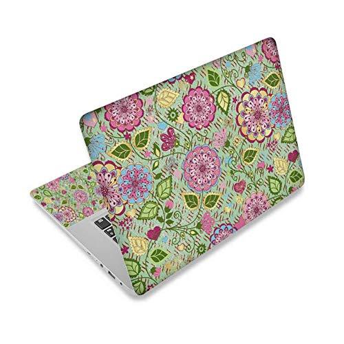 HUATULAI Laptop huid Vlinders & Bloemen 11.6