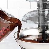 Cyg Schokoladenbrunnen, Kreativität DREI Etagen Vier Stockwerke Schokobrunnen Schmelzdeckel Chocolate Fountain für Partei Schokofondue (Size : Four Floors) - 6