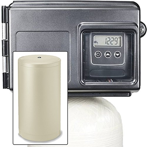 Abundant Flow Water 80k Water Fleck 2510SXT Metered Valve-80,000 Grain Softener Removes Hardness and Scale, Almond