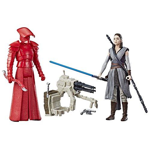 Hasbro Star Wars Rey (Jedi Training) & Elite Praetorian Guard 2-Pack - Kids Toy Figure Kits (4 year (s), Multicolor, Boy / girl, 99 year (s), Cartoon, Action / Adventure)