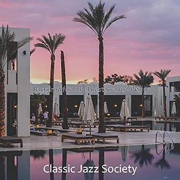 Backdrop for Hotel Restaurants - Piano