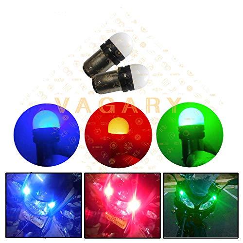 VAGARY Multicolor Tail Light, Back Up Lamp, Parking Light, Brake Light, Back light Bulb LED Universal For Bike, Pack of 1)