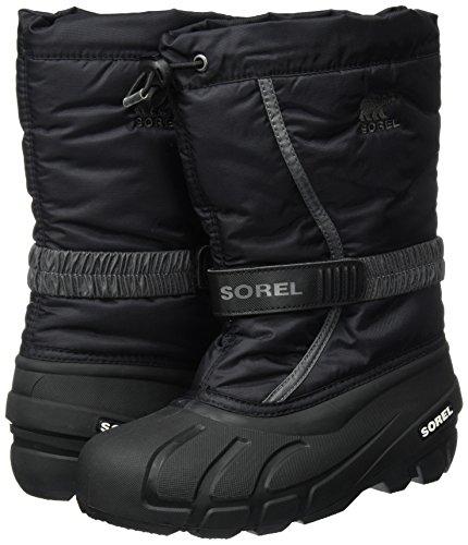 Sorel Kinder Stiefel YOUTH FLURRY, Schwarz - 3