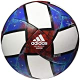 adidas MLS Top Capitano Soccer Ball White/Black/Football Blue/Active Red 5