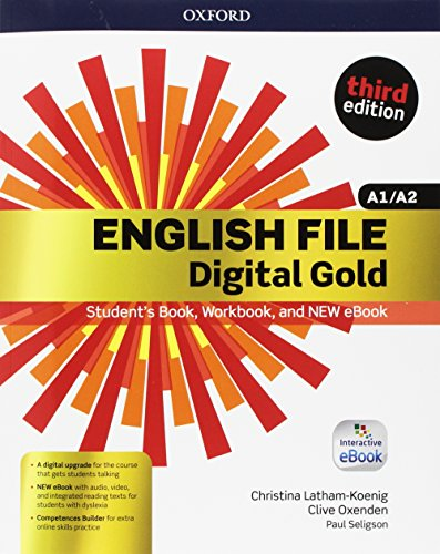 English file gold.A1-A2.Premium.student's book wb with key with ebk with oosp [Lingua inglese]