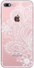 MISC Pink White Dream Catcher iPhone 8 Case Native Themed 7 Cover Indian Chief Flower Feathers Net Webs Catcher Indigenous Ojibwe Craft Spiderweb Tribal, Plastic