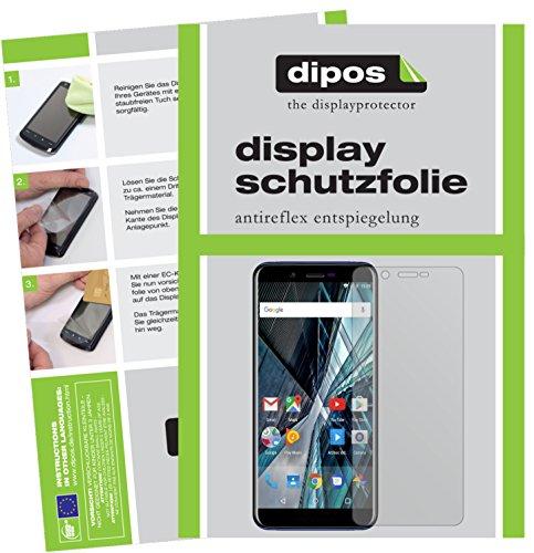 dipos I 6X Schutzfolie matt kompatibel mit Archos Core 57S Folie Bildschirmschutzfolie
