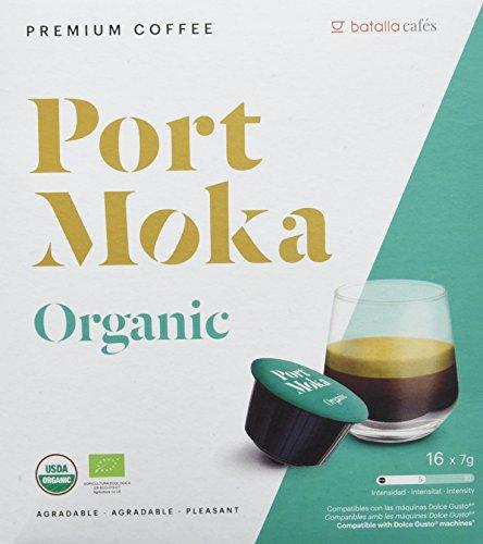 Port Moka Cápsulas de Café Organic Compatibles Sistema Dolce Gusto - 4...