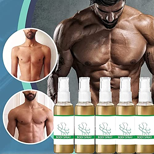 GGDK Gynecomastia Cellulite Melting Spray,Slimming Spray for Men and Women,30ml Anti Cellulite Spray,Weight Loss Fast Burning Body Firming Slim Spray,Chest Belly Fat Remove (5Pcs)