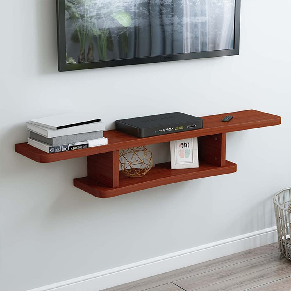 2 Tier A surprise price is realized Tv Wholesale Console Wall Shelf Mounted Cabinet Floating Modern