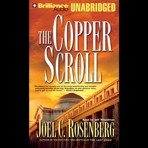The Copper Scroll audiobook cover art
