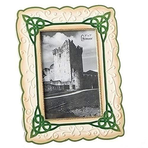Roman Irish Frame, 10.25 Inches Height - Hold 5 x 7