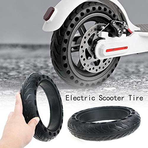 Buy Discount Lotuny 8.5 Inch Electric Scooter Tire Semi-Hollow Rubber Tire Replacement Wheel Compati...
