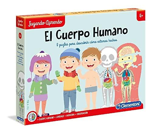 Clementoni - El Cuerpo Humano Juego Educativo, Multicolor (55114)