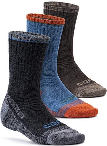 CQR テスラ メンズ アウトドア ウェア 登山用 トレッキング ソックス 靴下 [抗菌防臭・吸汗速乾] TZS78-CBW_L