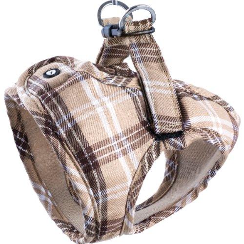 Komfortables Hundegeschirr Scottish Beige XXS-M, Größe:XS