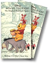Winnie the Pooh Storybook Classics Collection VHS