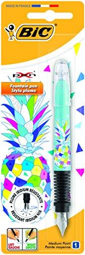 Bic Xpen Girls+Boys Decor 8795005 - Bolígrafo de diseño juvenil para chicos y chicas, diseño de piña