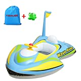 Kemuse Baby Toddler Inflatable Motorboat Kids Swimming...
