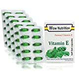 Best Choice Nutrition Wow Nutrition Vitamin E 400 Capsule for Glowing Face Hair