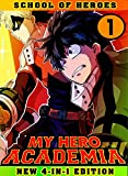 My Hero Academia School: Book 1 Collection - Manga My Hero Academia Action Shonen Adventure Fantasy (English Edition)
