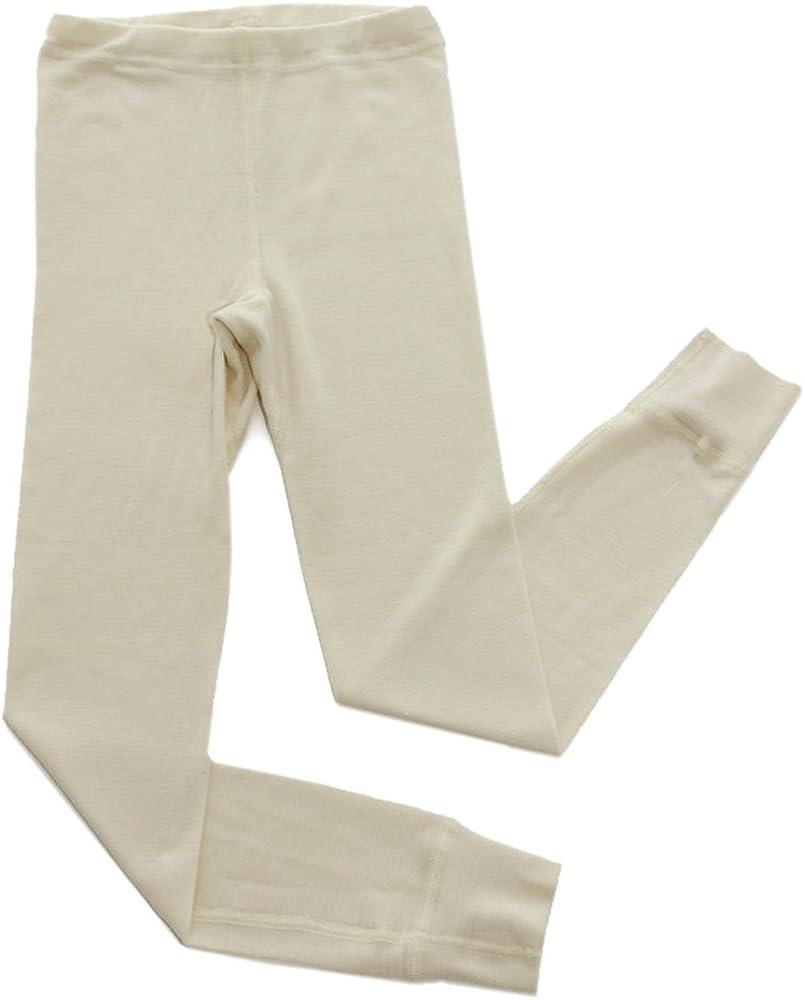 Hocosa Free Max 80% OFF Shipping Cheap Bargain Gift of Switzerland Little Long-Underwe Wool-Silk Organic Kids