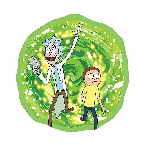 Rick And Morty - Mausmatte Mauspad - Portal - 21,5 cm