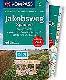 KOMPASS Wanderführer Jakobsweg Spanien: Wanderführer mit Extra-Tourenkarte 1:50.000, 60 Touren, GPX-Daten zum Download