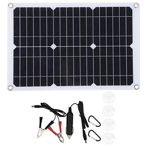El Panel Solar, Cargador de Emergencia al Aire Libre Compacto 20W, para el Barco del Coche de la cámara de los Deportes del teléfono móvil