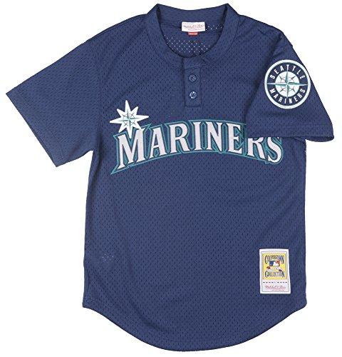 Randy Johnson Seattle Mariners Mitchell & Ness MLB Authentic 1995 BP Jersey