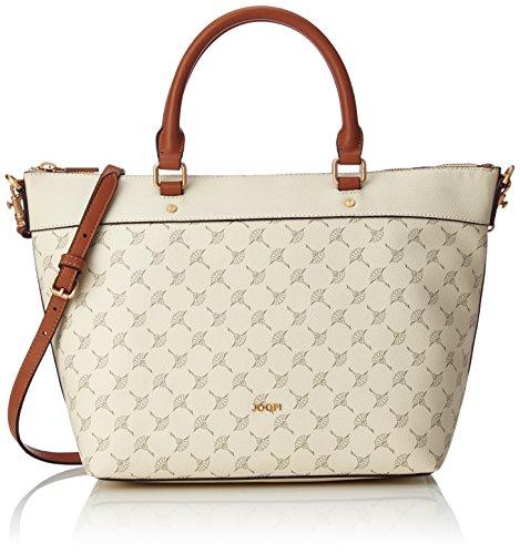 Joop! Handtasche Cortina Thoosa aus Kunststoff Damen Schultertasche mit Reißverschluss