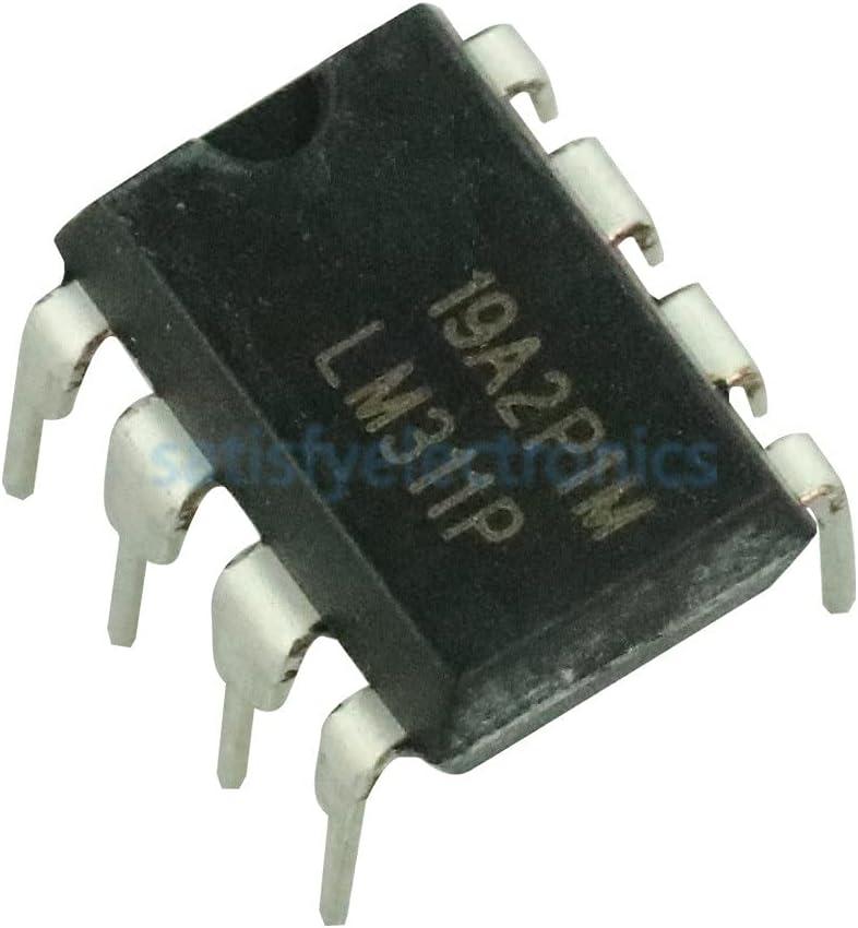 ndliulei 10Pcs LM311 LM311P IC DIFF COMP Strobe New DIP-8 100% quality Super intense SALE warranty W