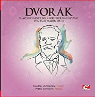Slavonic Dance 4 Four Hand Piano D-Flat Maj 72