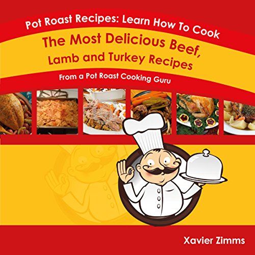 Pot Roast Recipes audiobook cover art