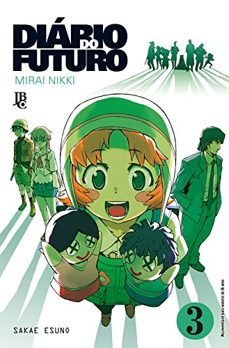 Diário do Futuro. Mirai Nikki - Volume 3