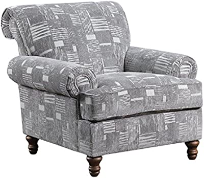 Lane Home Furnishings 90001-012 Starlight Accent Chair, Pewter