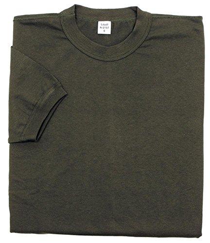 Tee-shirt, kaki, allemand manche courte, Taille:8