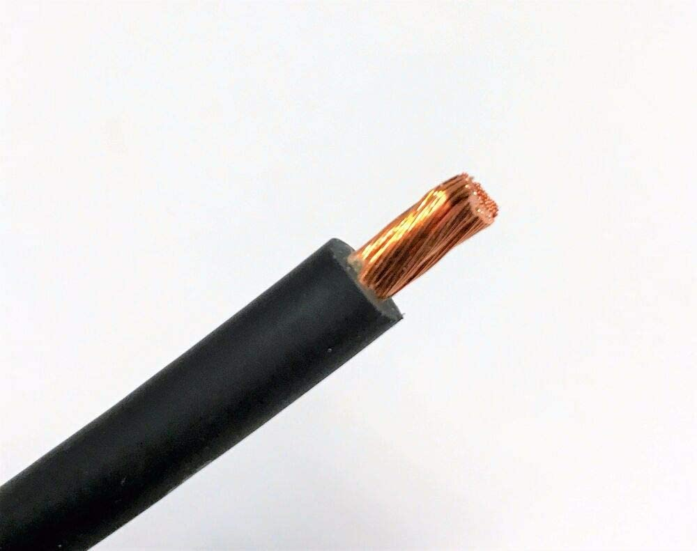 GAUGE WELDING BATTERY CABLE BLACK USA Quantity Limited price sale limited 8 AWG FT COPPER 25'